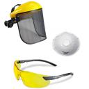 Brilles, Maskas un Respiratori