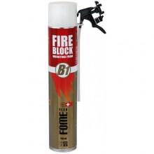 Montāžas puta adaptera FOME FLEX Fire Block Mounting Foam, 780g