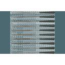 Adatvīļu komplekts / 10 gab (3 x 140mm)