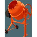 Besk 120L 550W Betona maisītājs