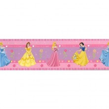 42214 Princesses Hearts Rotampale - Bordes / 15.9 cm x 5 m