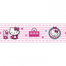 42260 Hello Kitty fashion Rotampale - Bordes 15.9 cm x 5 m