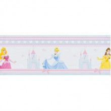 42412 Princess Fairytale Dreams Rotampale - Bordes  15.9 cm x 5 m