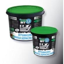 Bitumena špakteļmasa DEN BIT-U melna