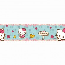90-044 Hello Kitty Woodland stroll Rotapmale - Bordes 15.9 cm x 5 m
