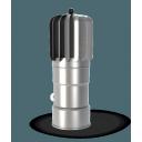 Dūmvada uzgalis tērauda TULPE D 150/470mm