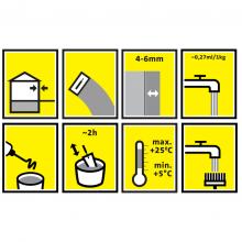 Sakret  LCC Minerālā Fasāžu Špaktele ar Vieglo Pildvielu 15kg
