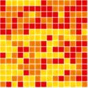Stikla Mozaika 31,6 cm x 31,6 cm MIX COLOR E.60+E.80+E.100