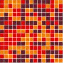 Stikla Mozaika 31,6 cm x 31,6 cm MIX COLOR E.80+E.100+L.46