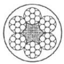Trose 6x7 + PVC