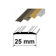 Savienojuma vietas pārklājošie aluminija profili 25mm/90cm