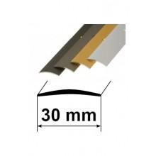 Savienojuma vietas pārklājošie aluminija profili 30mm/90cm