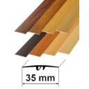 Laminēti dekoratīvie alumīnija profili 35mm/180cm