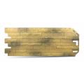 PVC Fasādes Paneļi Akmens Imitācija - Ķieģelis Antikas Karfagena