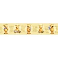 42501 Teddy Bears rotapmale 10.6 cm x 5 m