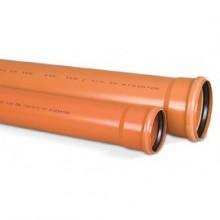 Caurule D 110 ārējai kanalizācijai