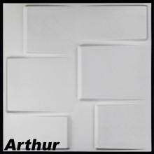 3-D panelis Arthur