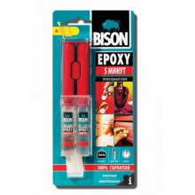 Līme BISON EPOXY 5 MIN 24ml