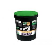 Bitumena hidroizolācija un līme putuplastam DEN BIT-S Styrbit