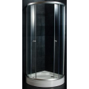 Duškabīne ar stikla durvīm