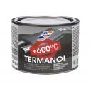 TERMANOL ALUMĪNIJA Termiski izturīga silikona alumīnija krāsas emalja