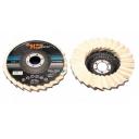 Filca disks pulēšanai Gerfelt C41a 125mm