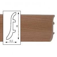 Buk čerwony (buks sarkans) PVC Grīdlīste LSP1