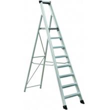 Kāpnes alumīnija profesionālas 12 pakāpieni