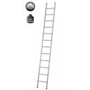 Kāpnes alumīnija VHR 1x18 pakāpieni