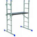 Kāpnes alumīnija sastatnes HPP 650