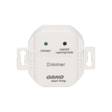 OR-SH-1705 Flush (box) uzstādīts slēdzis ar retināšanas funkciju,  bezvadu kontrolieris
