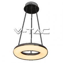 Iekarama 40W (2800Lm) LED Lustra,diametrs Ø400 mm,V-TAC,silti balta 3000K