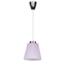 7W(360Lm) LED lustra,hromēta ar violetu kupolu