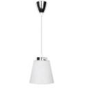 7W(360Lm) LED lustra,hromēta ar baltu kupolu