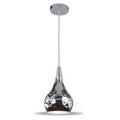 Подвесная лампа, металл, плафон, D160 Chrome finish