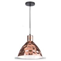 Подвесная Лампа, металл, плафон, D220 Rose Gold