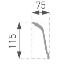 Putuplasta Griestu Līstes E-37
