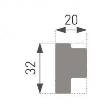 Putuplasta Griestu Līstes E-44