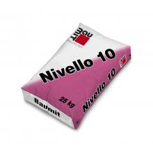 Baumit Nivello 10, 25 kg, 1 - 12mm pašizlīdzinošs grīdas izlīdzinātājs uz cementa bāzes