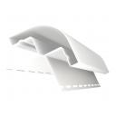 GL Stūris ārējs rādiusa balts