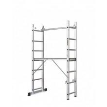 Kāpnes alumīnija sastatnes ECO 2x7