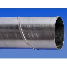 Vītais gaisa vads metāla - 0,3 m