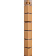 PVC Fasādes Paneļu Stūris - Klinkera Ķieģelis - Mazs