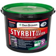 Bitumena hidroizolācija un līme putuplastam DEN BIT-S All Season 10kg