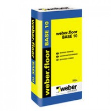 Weber Sausais Betons Grīdam BASE 10 25kg