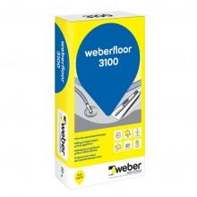 Weber Pašizlīdzinošā Grīdas Nobeiguma Špaktele 3100 20kg