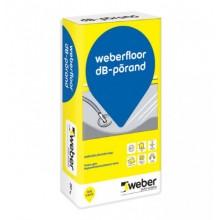 Weber Floor dB-PÕRAND Pašlīdzinošs Grīdas Līdzinātājs 10-50mm ar šķiedrām